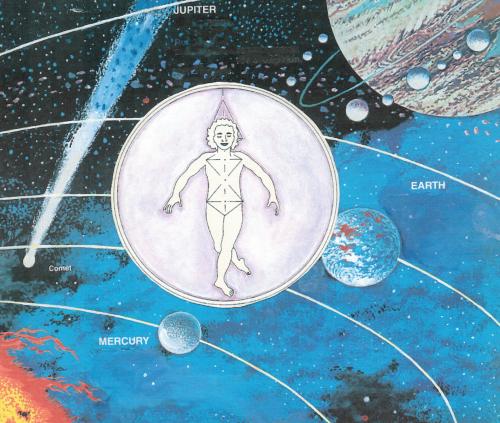 Figure in cosmos